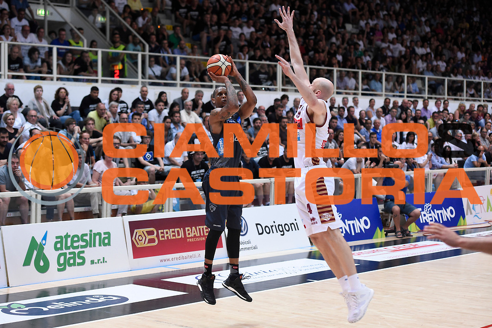 Joao Gomes<br /> Dolomiti Energia Aquila Basket Trento - Umana Reyer Venezia<br /> Lega Basket Serie A 2016/2017<br /> Playoff, finale gara 4<br /> Trento, 16/06/2017<br /> Foto M.Ceretti / Ciamillo-Castoria