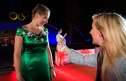 September 30, 2018 - Jelena Ostapenko of Latvia on the red carpet at the 2018 China Open WTA Premier Mandatory tennis tournament players party (Credit Image: © AFP7 via ZUMA Wire)
