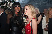 NAOMI CAMPBELL; GEORGIA MAY JAGGER, The Serpentine Summer Party 2013 hosted by Julia Peyton-Jones and L'Wren Scott.  Pavion designed by Japanese architect Sou Fujimoto. Serpentine Gallery. 26 June 2013. ,