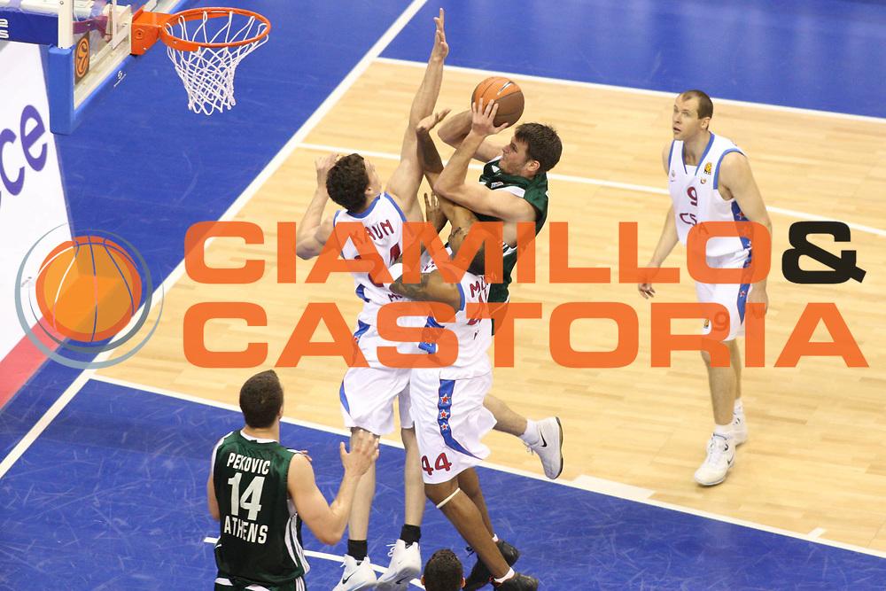 DESCRIZIONE : Berlino Eurolega 2008-09 Final Four Finale Panathinaikos Atene CSKA Mosca <br /> GIOCATORE : Antonio Fotsis<br /> SQUADRA : Panathinaikos Atene<br /> EVENTO : Eurolega 2008-2009 <br /> GARA : Panathinaikos Atene CSKA Mosca <br /> DATA : 03/05/2009 <br /> CATEGORIA : Tiro <br /> SPORT : Pallacanestro <br /> AUTORE : Agenzia Ciamillo-Castoria/G.Ciamillo