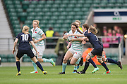 Twickenham, United Kingdom.  Nikki WECKMAN in early action during the 2015 Women's Varsity Match, Oxford vs Cambridge, RFU Twickenham Stadium, England.<br /> <br /> Thursday  10/12/2015<br /> <br /> [Mandatory Credit. Peter SPURRIER/Intersport Images].