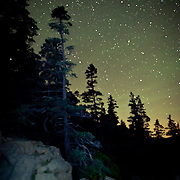 The stars at Acadia National Park, Maine Acadia National Park