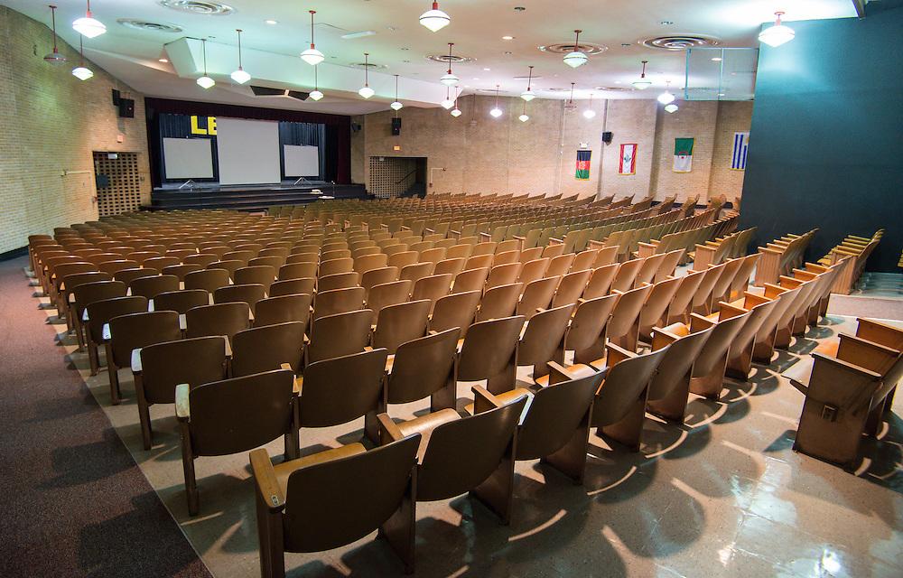 Lee High School auditorium, December 16, 2013.