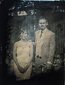 Wedding Tin Type portraits