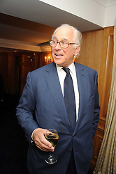 SIR EVELYN DE ROTHSCHILD at the Spectator Summer Party held at 22 Old Queen Street, London SW1 on 3rd July 2008.<br />