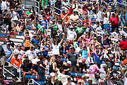 April 22-24, 2016: NHRA 4 Wide Nationals: Fans at NHRA 4 wide Nats