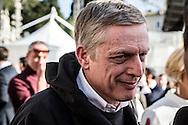 Emiliano Albensi<br /> 29/10/2016 Roma (Italia)<br /> Manifestazione PD Basta un S&igrave;<br /> Nella foto: anche Gianni Cuperlo a preso parte, a sorpresa, alla manifestazione &quot;Basta un s&igrave;&quot; a piazza del Popolo<br /> <br /> Emiliano Albensi<br /> 29/10/2016 Rome (Italy)<br /> Democratic Party demonstration in support of the Constitutional Reform referendum<br /> In the picture: Gianni Cuperlo, member of Democratic Party