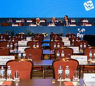 Cicci Tudini ITA<br /> Synchronised Swimming Technical Congress TSSC<br /> 12/07/2017 - July 12 , 2017<br /> XVII FINA World Championships Aquatics<br /> Hotel Intercontinental Budapest Hungary July 11th - 30th 2017 <br /> Photo G.Scala/Deepbluemedia/Insidefoto