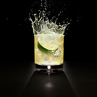 Timothy Hogan photography shoots tequila cocktail in Los Angeles for Diageo USA