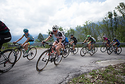 Rozanne Slik (NED) of Team Sunweb rides  the day's main climb of Stage 2 of the Giro Rosa - a 122.2 km road race, between Zoppola and Montereale Valcellina on July 1, 2017, in Pordenone, Italy. (Photo by Balint Hamvas/Velofocus.com)