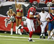 ATLANTA - AUGUST 29:  Quarterback Chris Redman #8 of the Atlanta Falcons scrambles for a fourth quarter touchdown during the game against the San Diego Chargers at the Georgia Dome on August 29, 2009 in Atlanta, Georgia.  The Falcons beat the Chargers 27-24.  (Photo by Mike Zarrilli/Getty Images)