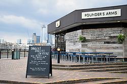 Founder's Arms pub near Blackfriars Bridge, London UK April 2019