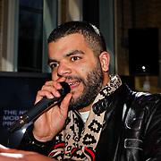 NLD/Amsterdam/20100215 -  Lancering MTV Mobile, mtv presentator Sef