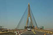 Guadiana International Bridge, connecting Spain to the Algarve, Portugal
