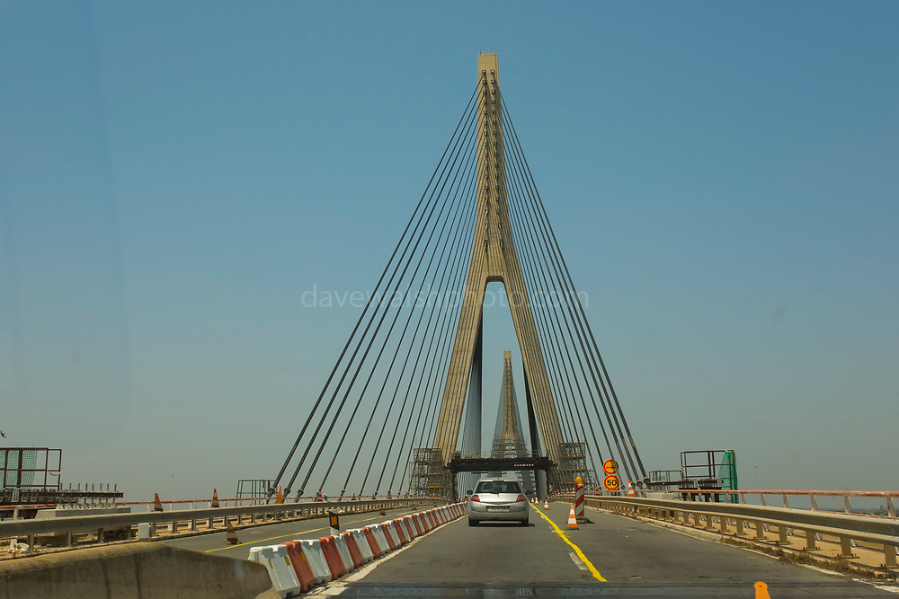Guadiana International Bridge, connecting Spain to the Algarve, Portugal