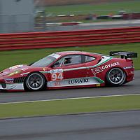#94 Ferrari F430 GTC - AF Corse (Drivers - Matías Russo and Luis Perez Companc) GT2, Le Mans Series Silverstone 1000KM 2010