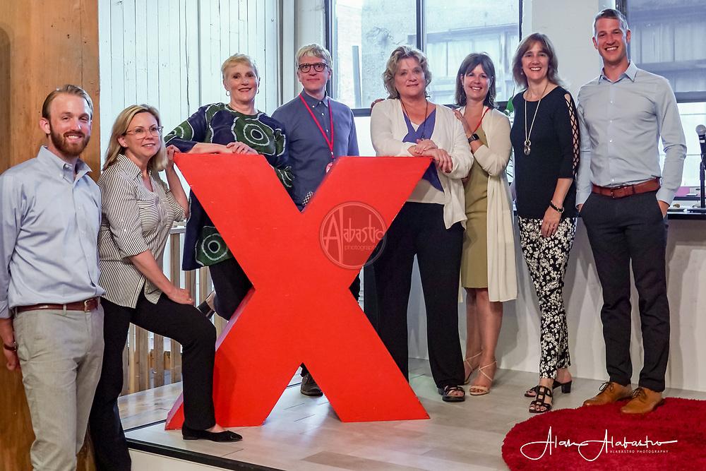 2018 Tall Order Speaker Series. TedX Seattle Speaker Team. Photo by Alabastro Photography.