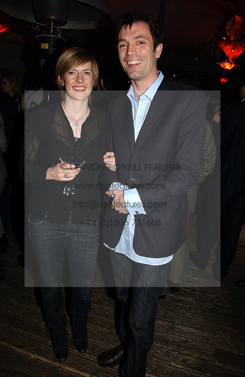 TOM &amp; SASHA SYKES at a party to celebrate the publication of Tom Sykes's book 'What Did I Do Last Night?' held at Centuary, Shaftesbury Avenue, London on 16th January 2007.<br /><br />NON EXCLUSIVE - WORLD RIGHTS
