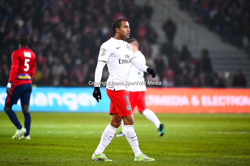 Lucas MOURA - 03.12.2014 - Lille / Paris Saint Germain - 16eme journee de Ligue 1 -<br />Photo : Fred Porcu / Icon Sport