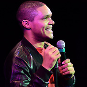 Comedian Trevor Noah performs at The Music Hall in Portsmouth, NH. July 18, 2015.