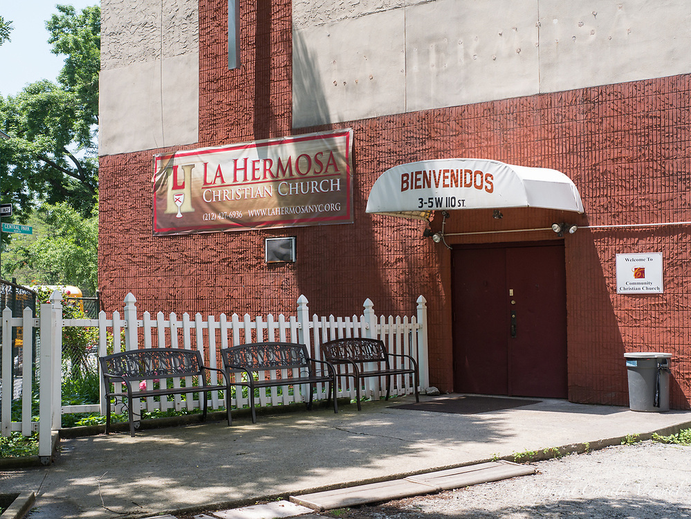 La Hermosa Christian Church on 110th street at Fifth Avenue