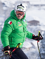 17.01.2017, Hahnenkamm, Kitzbühel, AUT, FIS Weltcup Ski Alpin, Kitzbuehel, Abfahrt, Herren, Streckenbesichtigung, im Bild Peter Fill (ITA) // Peter Fill of Italy during the course inspection for the men's downhill of FIS Ski Alpine World Cup at the Hahnenkamm in Kitzbühel, Austria on 2017/01/17. EXPA Pictures © 2017, PhotoCredit: EXPA/ Johann Groder
