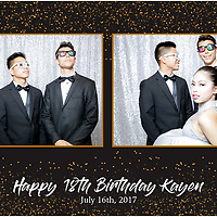 Kayen's 18th B-Day