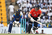 Eoin Morgan (Capt) during the One Day International match between Sri Lanka and England at Pallekele International Cricket Stadium, Pallekele, Sri Lanka on 20 October 2018.
