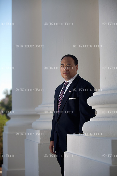 Dr. Ronald Layton, United States Secret Service, Special Agent in Charge White House Technical Liaison Section, is shown on the North Portico of the White House Wednesday, June 29, 2016, in Washington, DC.<br /> <br /> Photo by Khue Bui