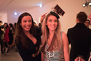 ANTONIA PLUNKETT; LUCINDA EDWARDS, Serpentine Gallery and Harrods host the Future Contempories Party 2016. Serpentine Sackler Gallery. London. 20 February 2016