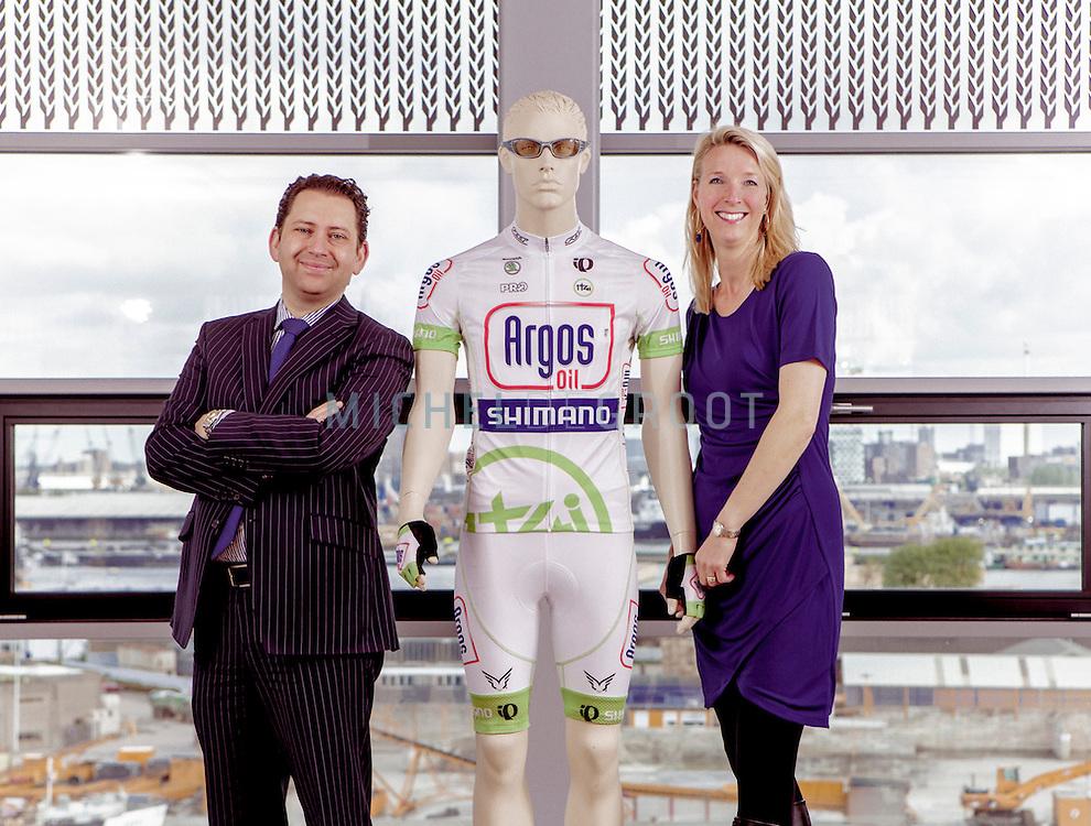Jan Dirks en Bernice Rijnberk van Argos Oil in Rotterdam