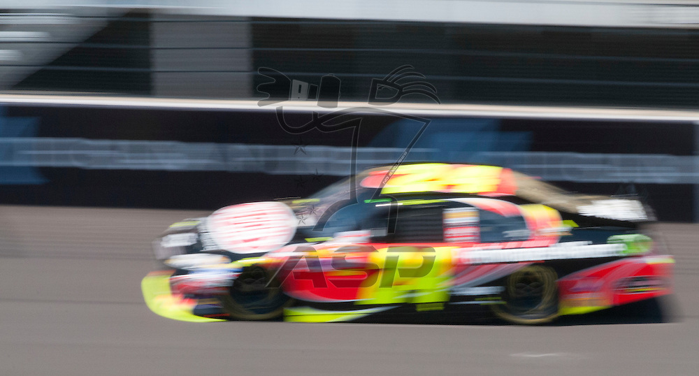 Brooklyn, MI - JUN 15, 2012: Jeff Gordon (24) during practice for the Quicken Loans 400 race at the Michigan International Speedway in Brooklyn, MI.