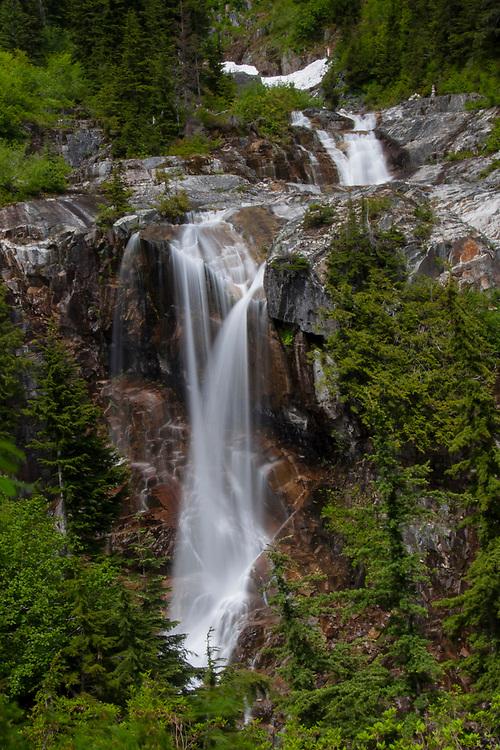 Keekwulee Falls, Denny Creek, Mt. Baker-Snoqualmie National Forest, Washington, US