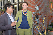 AARON CESAR; CHARLOTTE PHILLLIPS;, Dinner to celebrate the 10th Anniversary of Contemporary Istanbul Hosted at the Residence of Freda & Izak Uziyel, London. 23 June 2015