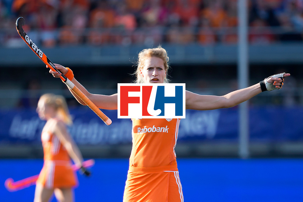 THE HAGUE - Rabobank Hockey World Cup 2014 - 12-06-2014 - WOMEN - SEMI-FINAL THE NETHERLANDS - ARGENTINA 4-0 - Carlien Dirkse van den Heuvel.<br /> Copyright: Willem Vernes