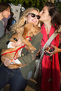 MARYAM D'ABO; WINSTON; JASMINE DELLAL,  CHARLES FINCH'S CHUCS SWIMATHON 2013, SERPENTINE, Hyde Park, London. 4 July 2013.