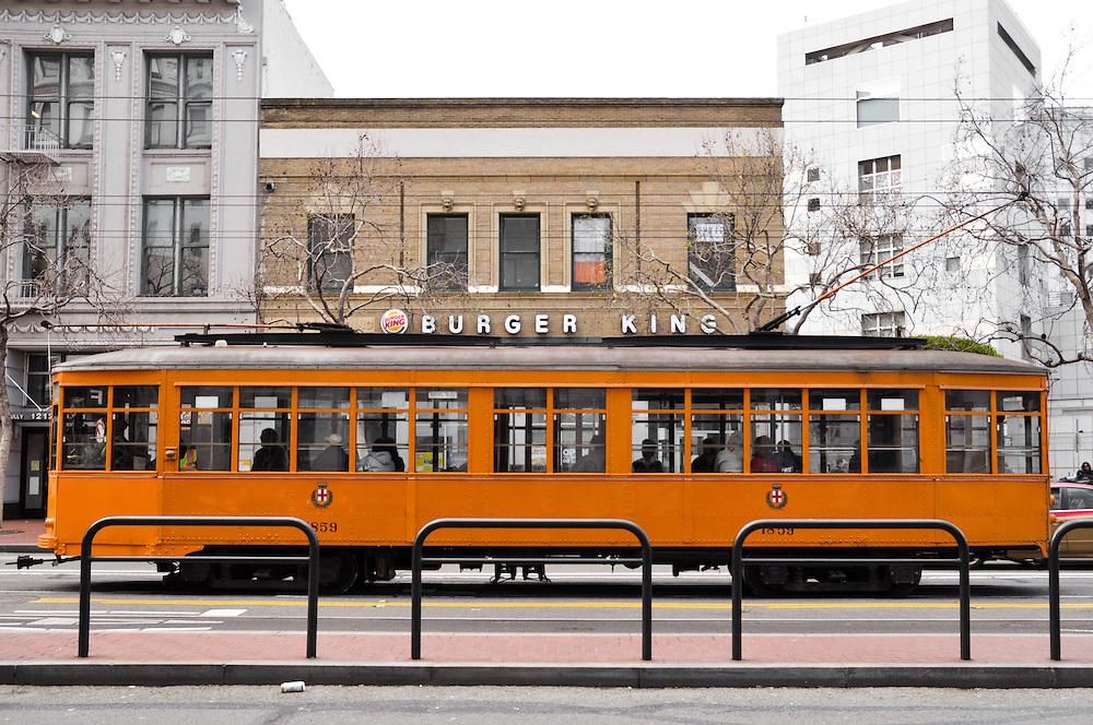 Street Car - Orange