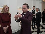 JANE POPOV; ALEXANDER POPOV, Opening of Galerie Thaddaeus Ropac London, Ely House, 37 Dover Street.. Mayfair. London. 26 April 2017.