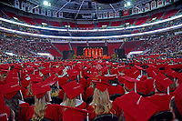 Commencement in PNC Arena.