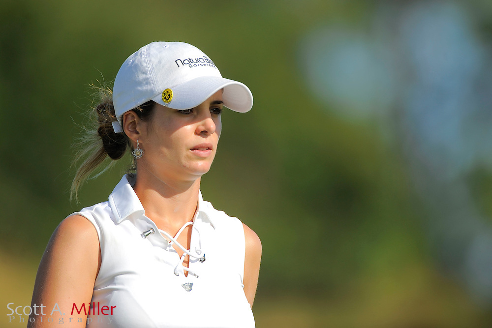 Beatriz Recari during the second round of the CME Group Titleholders at Grand Cypress Resort on Nov. 18, 2011 in Orlando, Fla.  ..©2011 Scott A. Miller
