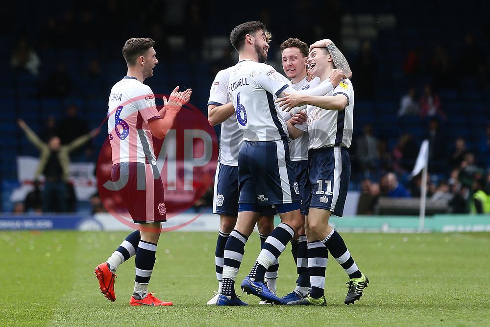 Jordan Rossiter of Bury celebrates after equalising - Mandatory by-line: JMP - 04/05/2019 - FOOTBALL - Gigg Lane - Bury, England - Bury v Port Vale - Sky Bet League Two