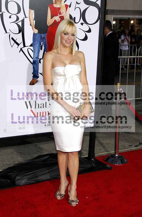 WESTWOOD, CA - SEPTEMBER 19, 2011: Anna Faris at the Los Angeles premiere of 'What's Your Number?' held at the Westwood Village Theater in Westwood, USA on September 19, 2011.