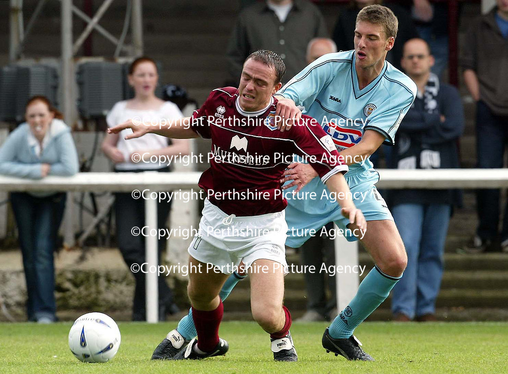 Arbroath v St Mirren..  14.09.02<br />