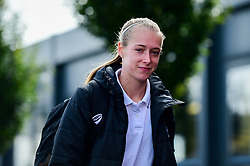 Flo Allen of Bristol City arrives at SGS College Stoke Gifford Stadium prior to kick off - Mandatory by-line: Ryan Hiscott/JMP - 29/09/2019 - FOOTBALL - SGS College Stoke Gifford Stadium - Bristol, England - Bristol City Women v Chelsea Women - FA Women's Super League