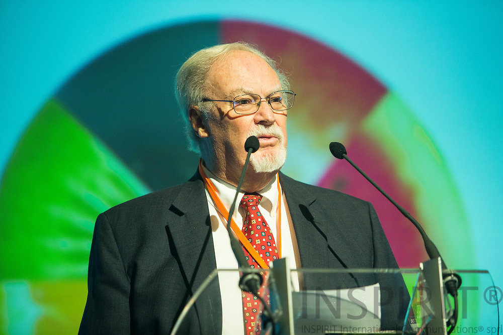 Donald Sporn, IFU President, USA, at the Juice Summit in Antwerp 15 - 16 October 2014. Photo: Erik Luntang