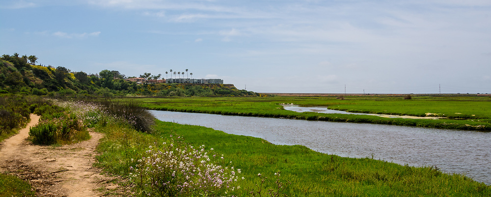 Trails in San Elijo Lagoon Ecological Reserve