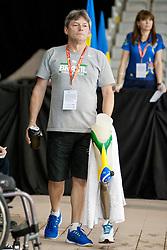Daniel Dias' Coach BRA at 2015 IPC Swimming World Championships -