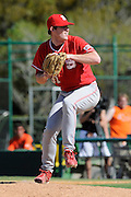 March 8, 2009: Joey Cutler of the North Carolina State Wolfpack in action during the NCAA baseball game between the Miami Hurricanes and the North Carolina State Wolfpack. The 'Canes defeated the Wolfpack 9-7.