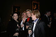 PAULA MARCHESI, ALLESANDRA DI MONTEZEMOLO, COUNTESS DE MICHELIS DI SLONGHELLO ALESSANDRA AND COUNTESS ISABELLA DE MICHELIS. private view of The Alberto Bruni Tedeschi Collection -  Sotheby's,19 March 2007.  -DO NOT ARCHIVE-© Copyright Photograph by Dafydd Jones. 248 Clapham Rd. London SW9 0PZ. Tel 0207 820 0771. www.dafjones.com.