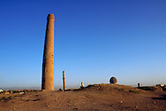 One of the seven minarets of Herat